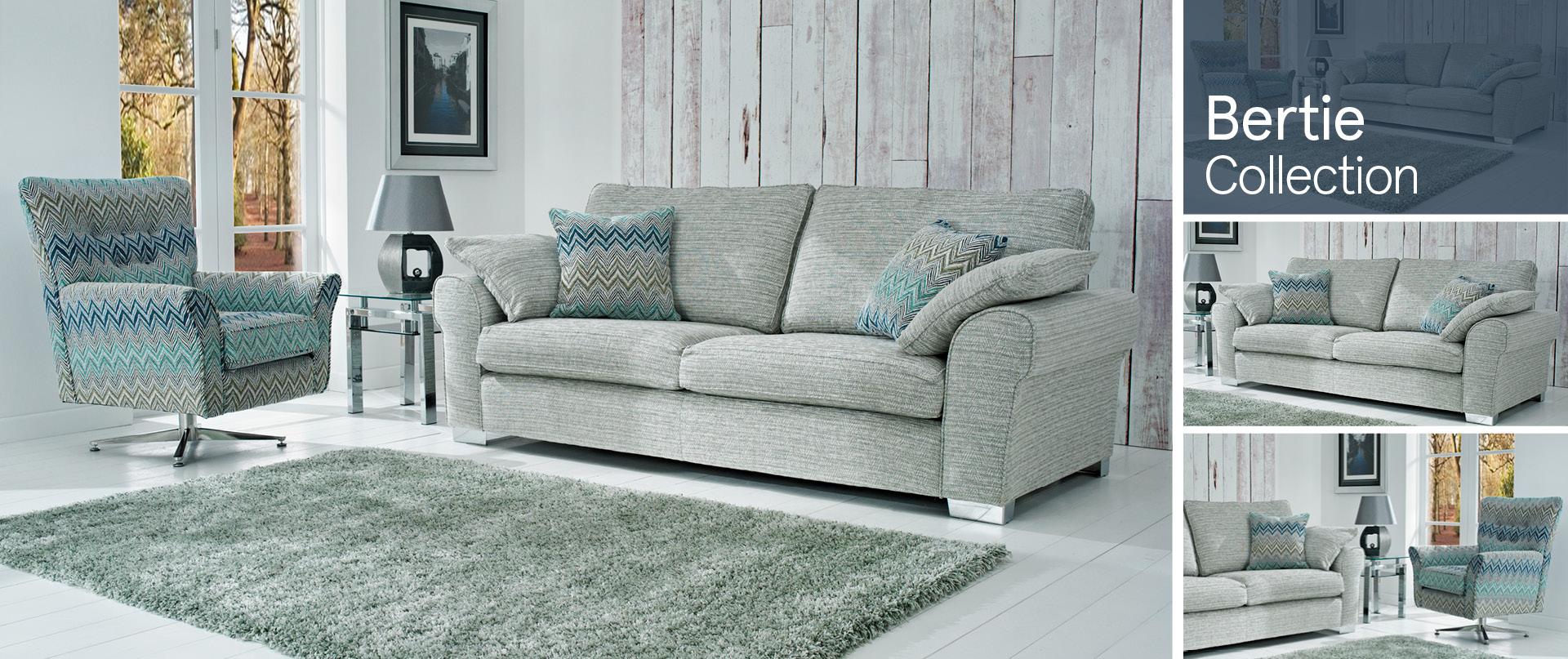 Bertie Fabric Sofa Ranges