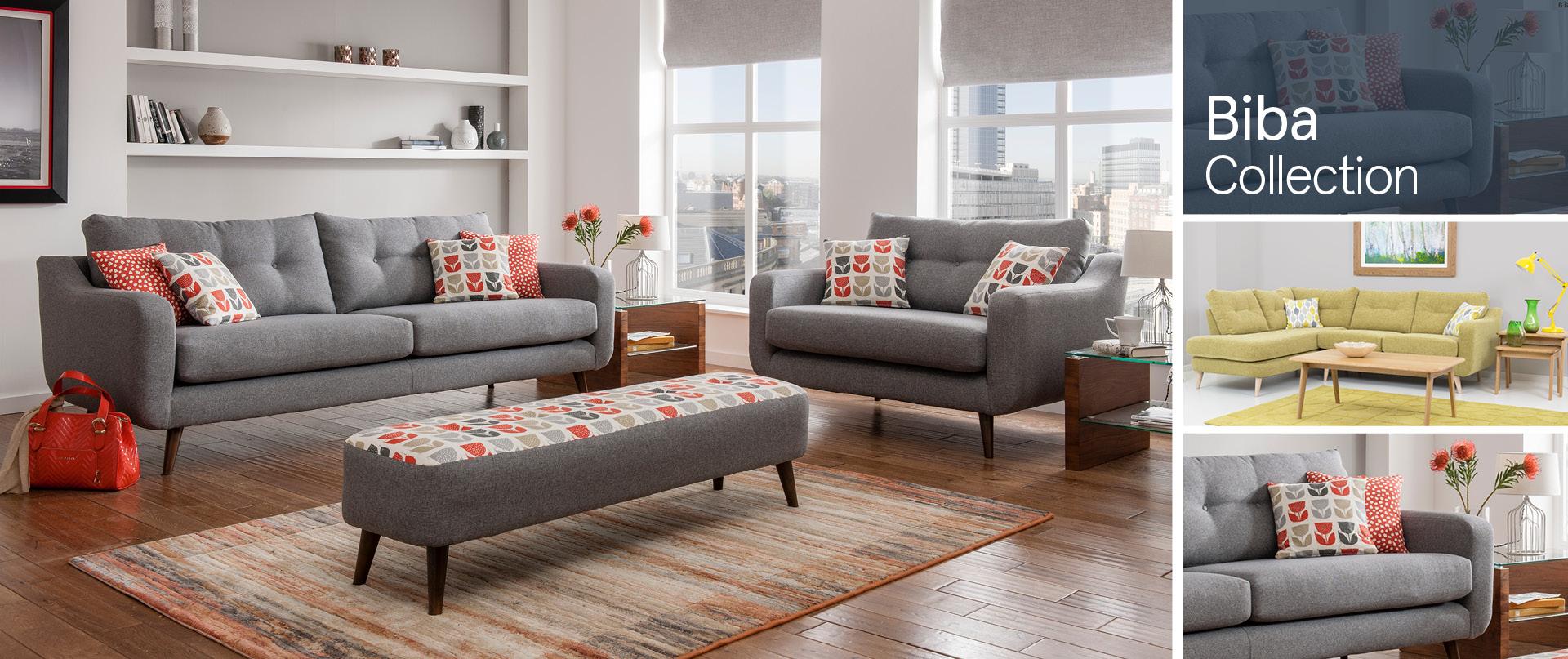 Biba Fabric Sofa Ranges