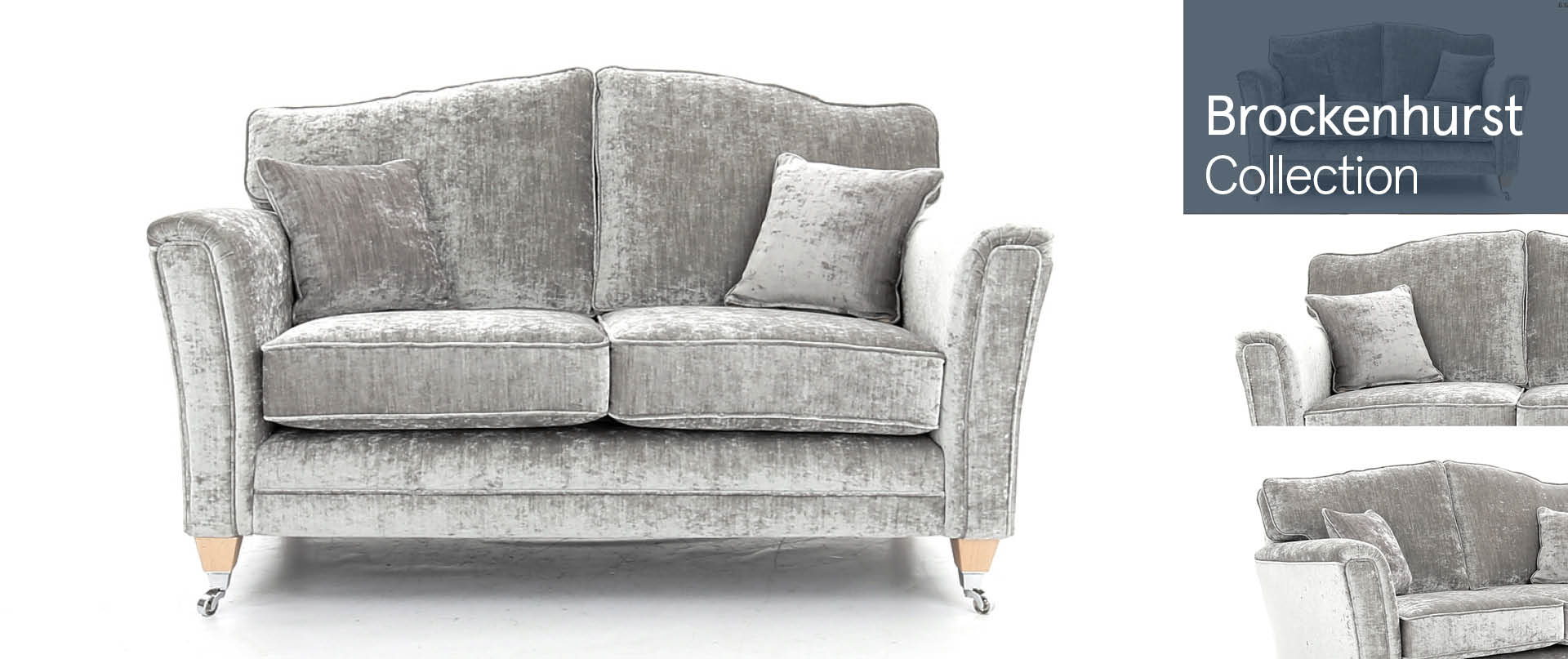 Brockenhurst All Fabric Sofa Ranges