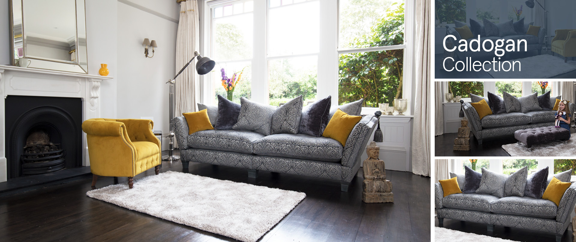 Cadogan Fabric Sofa Ranges
