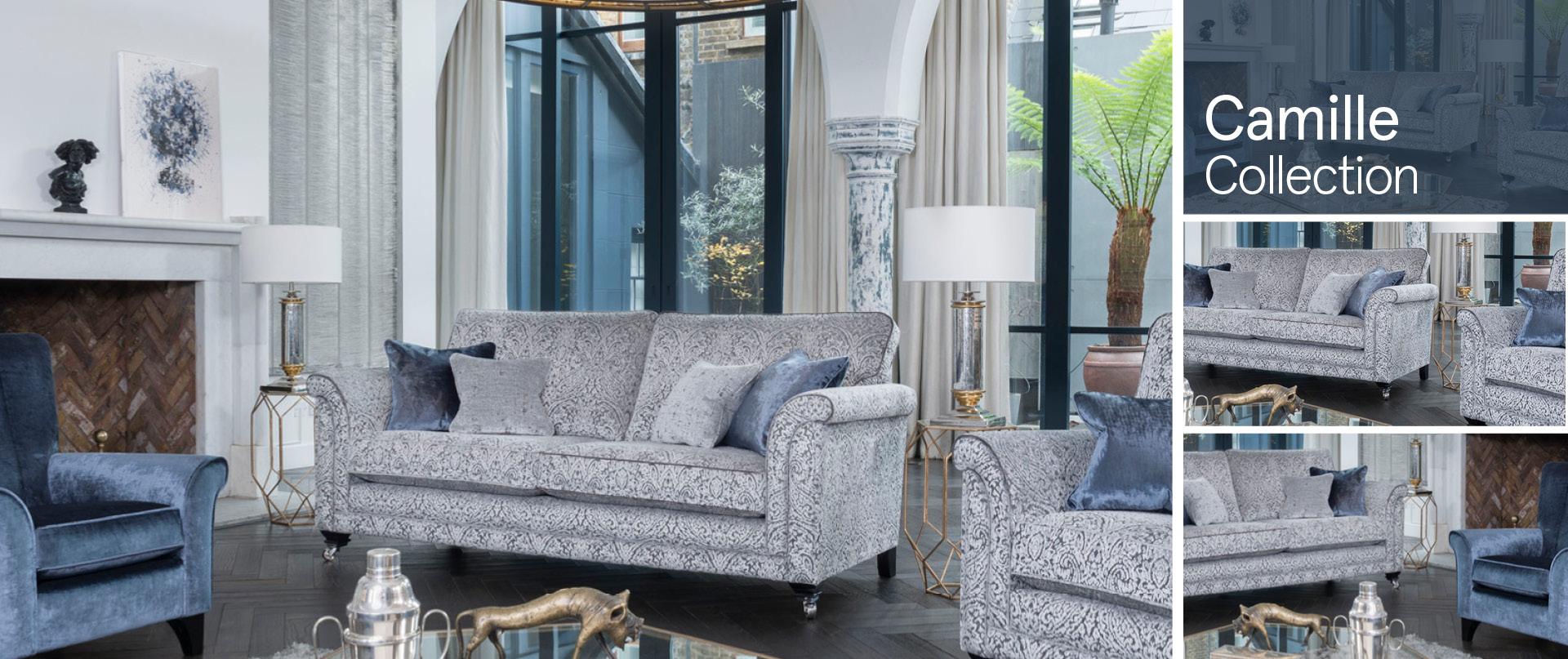 Camille Fabric Sofa Ranges