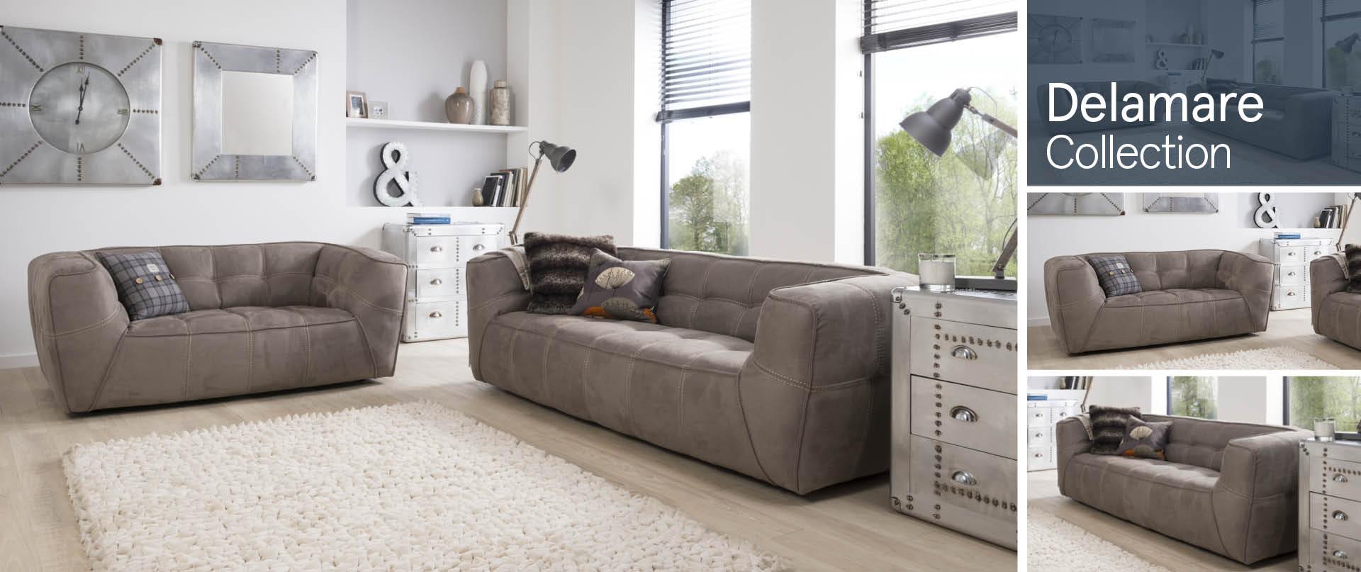 Delamare Fabric Sofa Ranges
