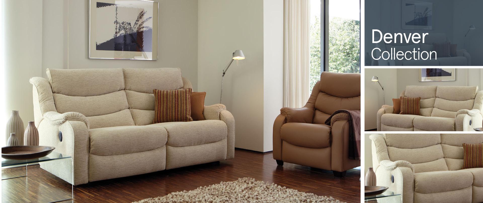 Denver Fabric Sofa Ranges