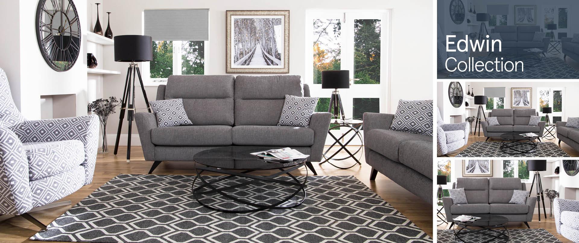 Edwin Fabric Sofa Ranges
