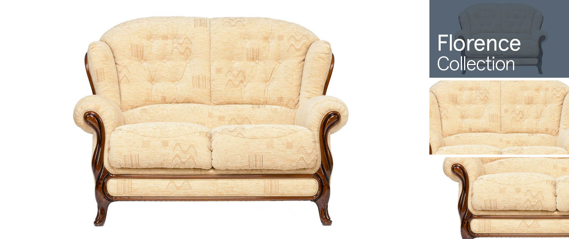 Florence All Fabric Sofa Ranges