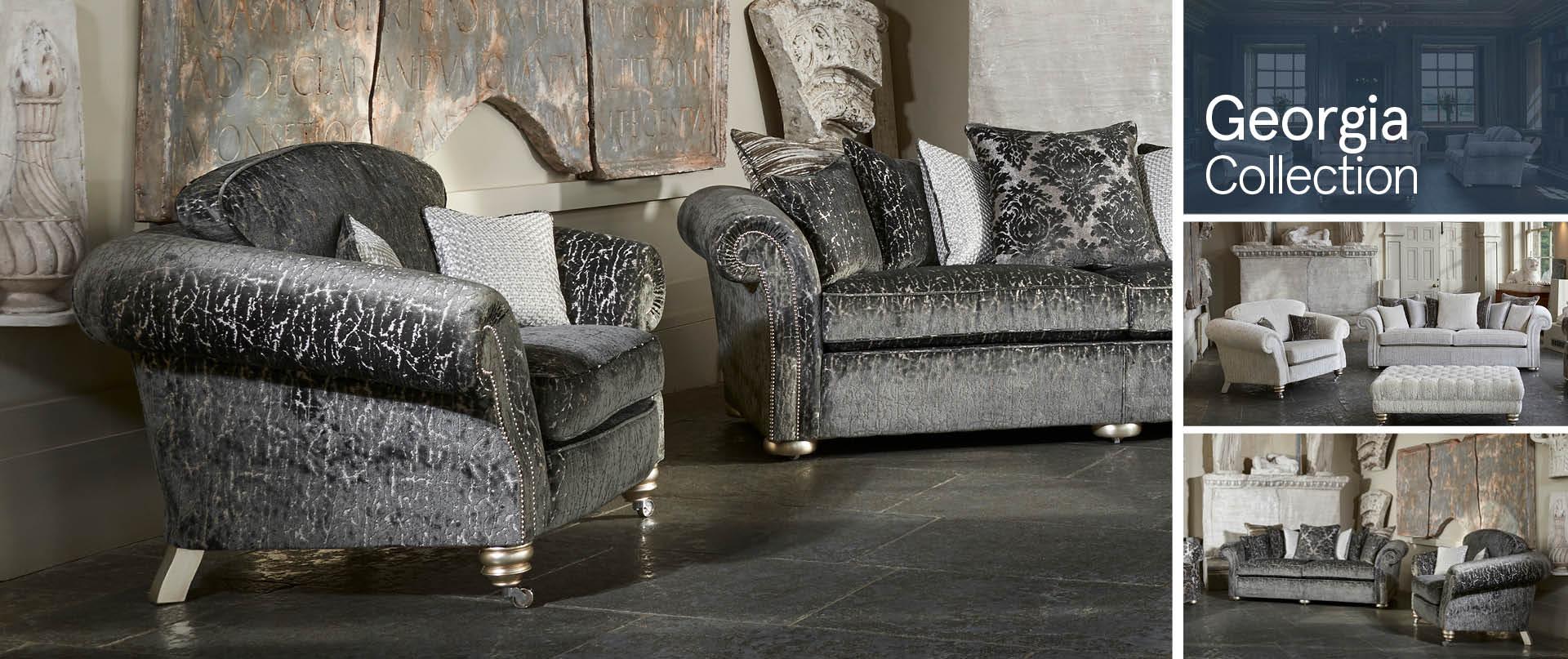 Georgia Fabric Sofa Ranges