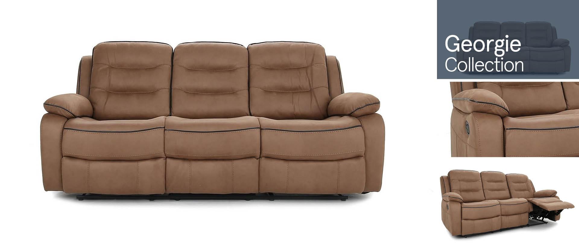 Georgie All Fabric Sofa Ranges