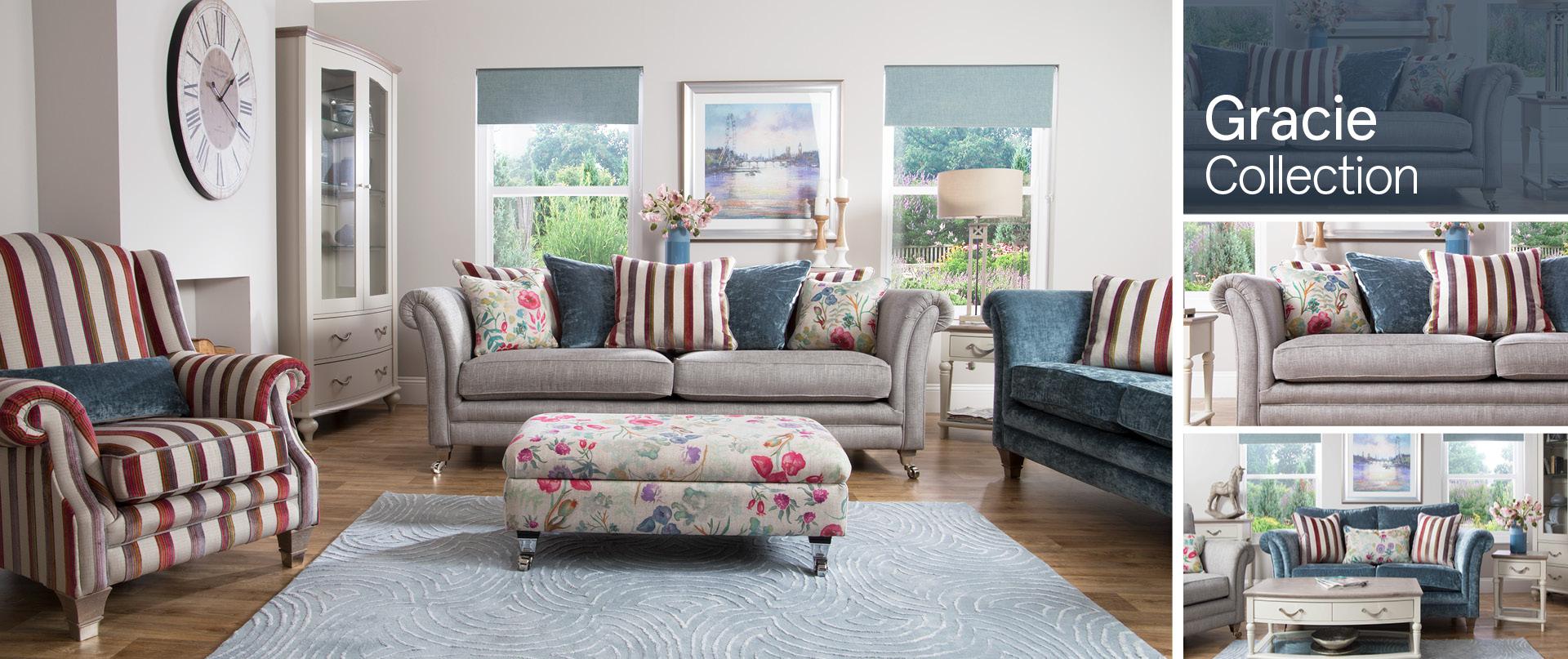Gracie Fabric Sofa Ranges