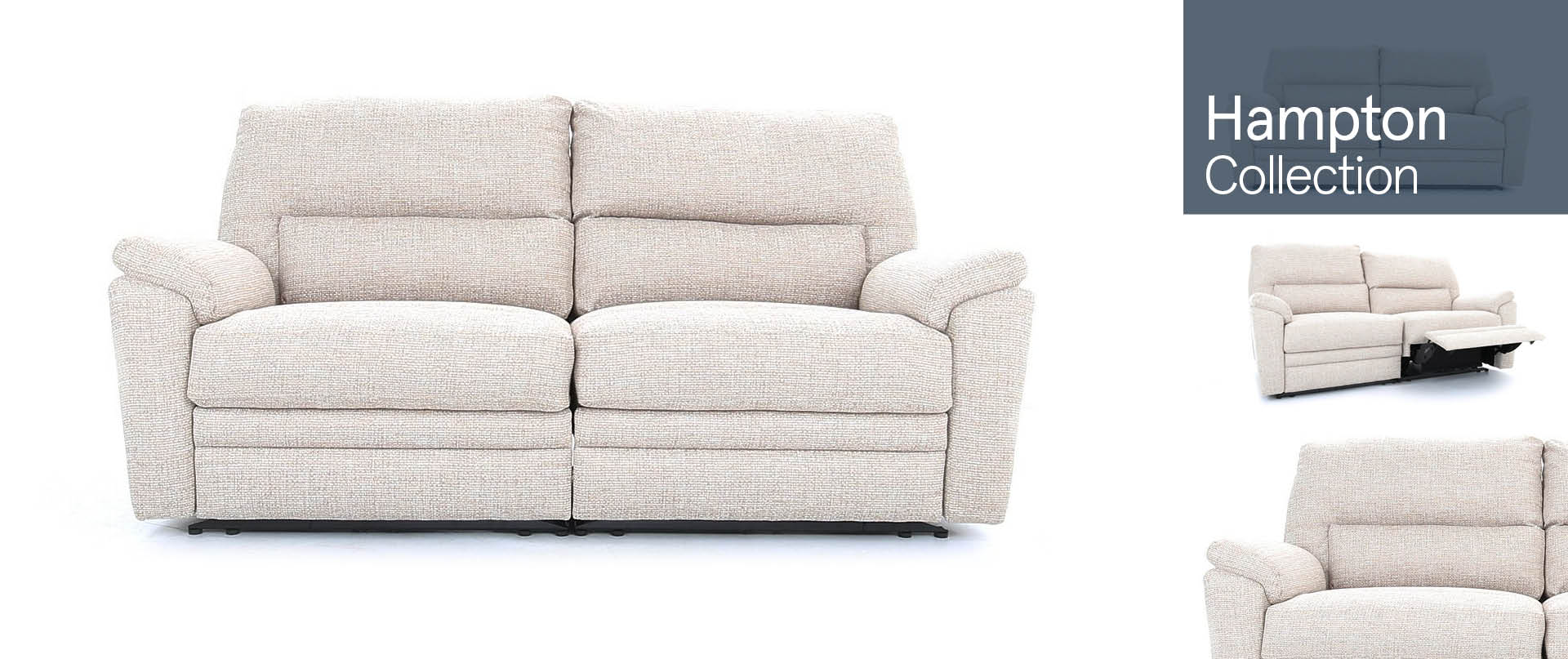 Hampton Fabric Sofa Ranges
