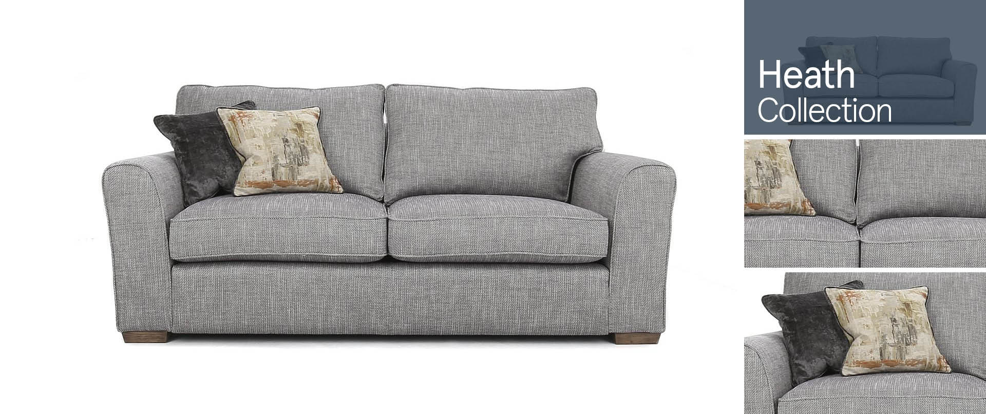 Heath All Fabric Sofa Ranges