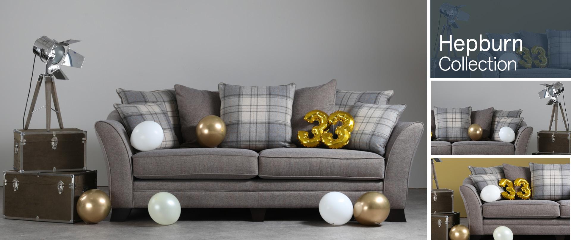 Hepburn Fabric Sofa Ranges