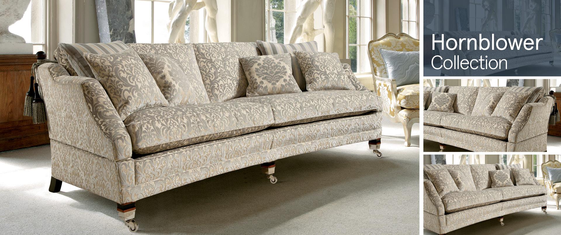 Hornblower Fabric Sofa Ranges