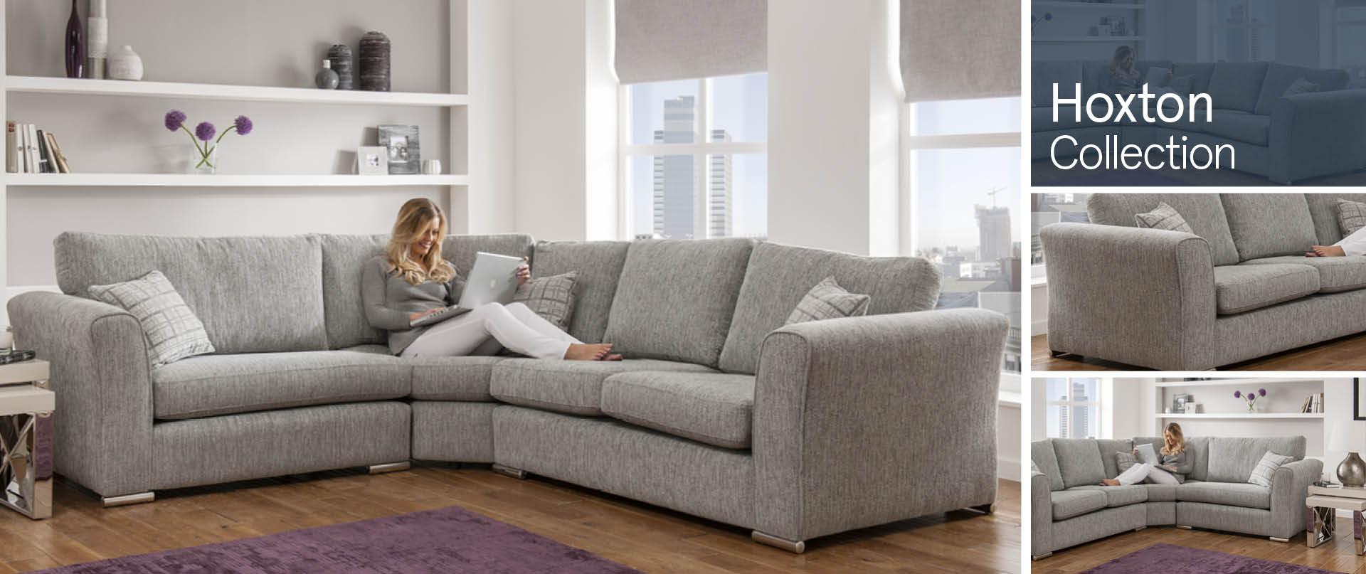 Hoxton Fabric Sofa Ranges