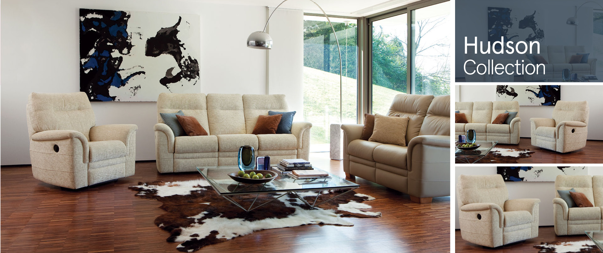 Hudson Fabric Sofa Ranges