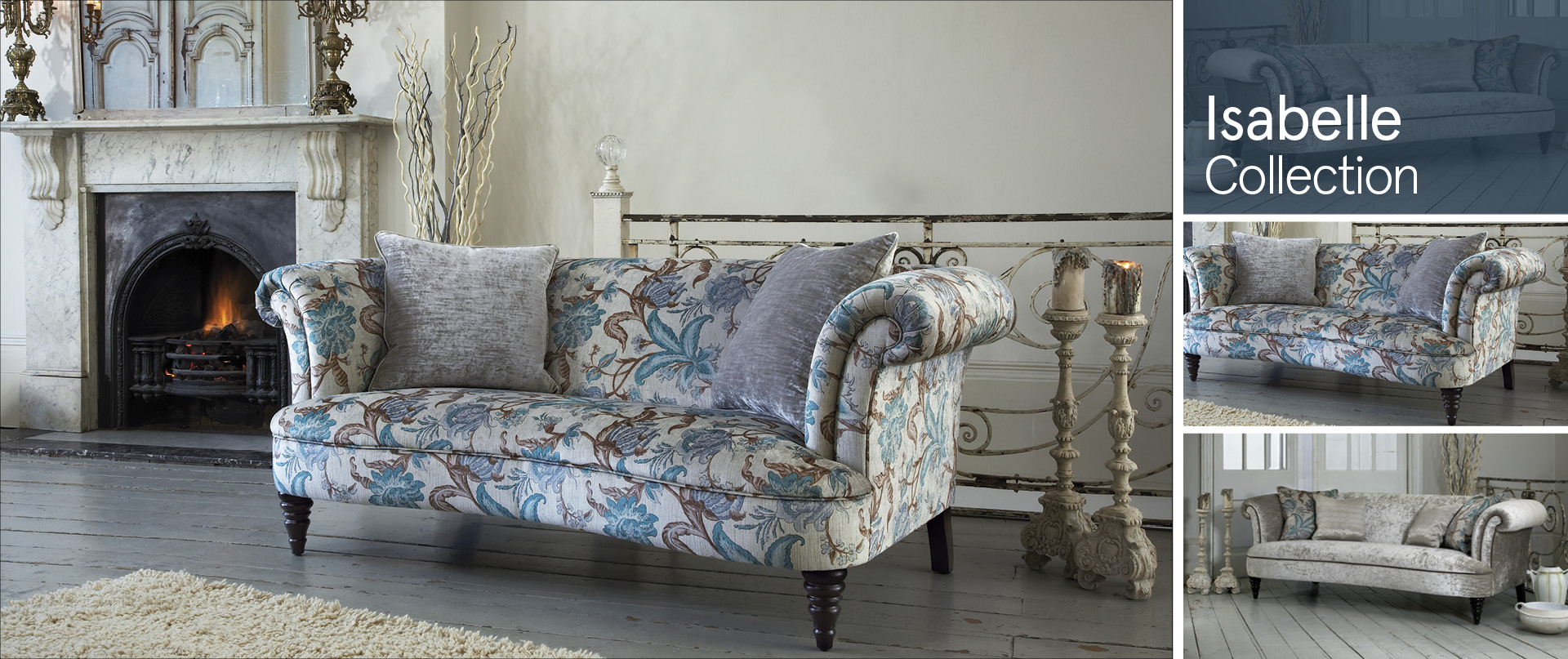 Isabelle Fabric Sofa Ranges