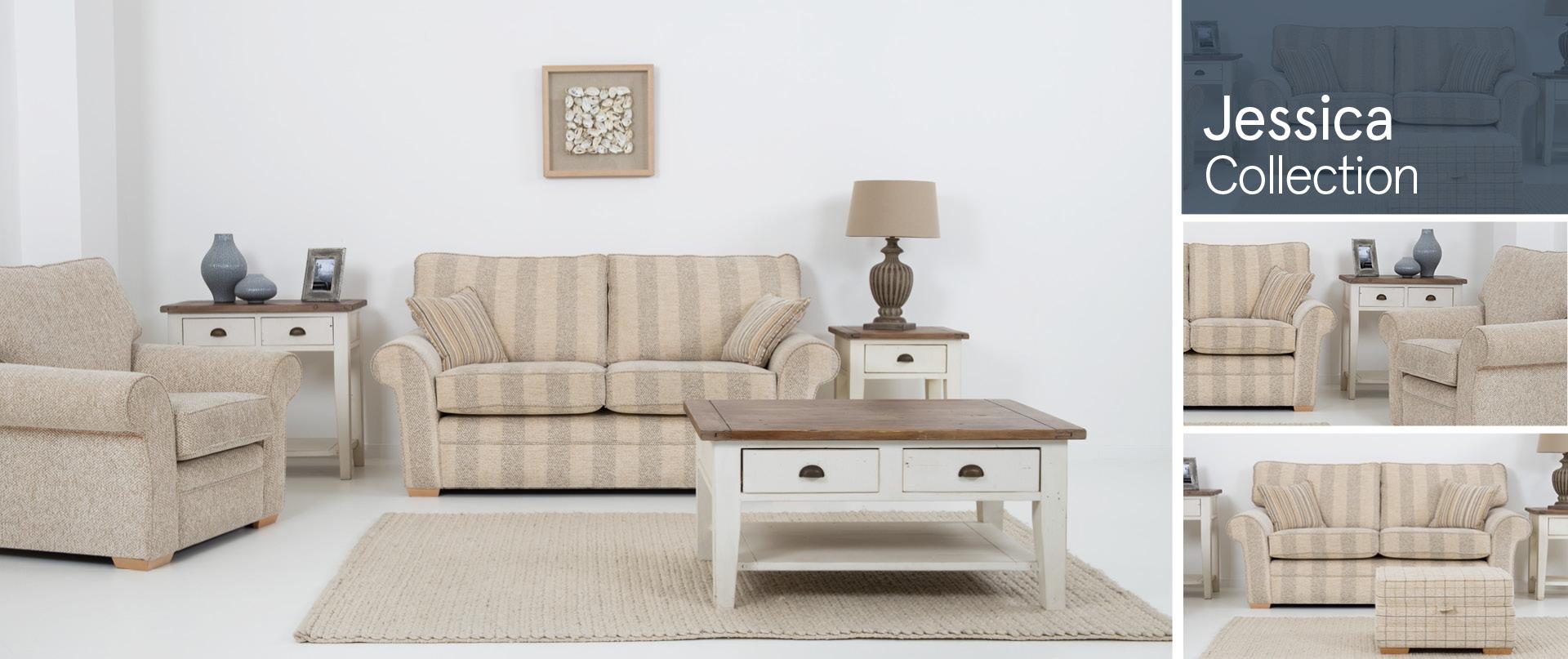 Jessica Fabric Sofa Ranges
