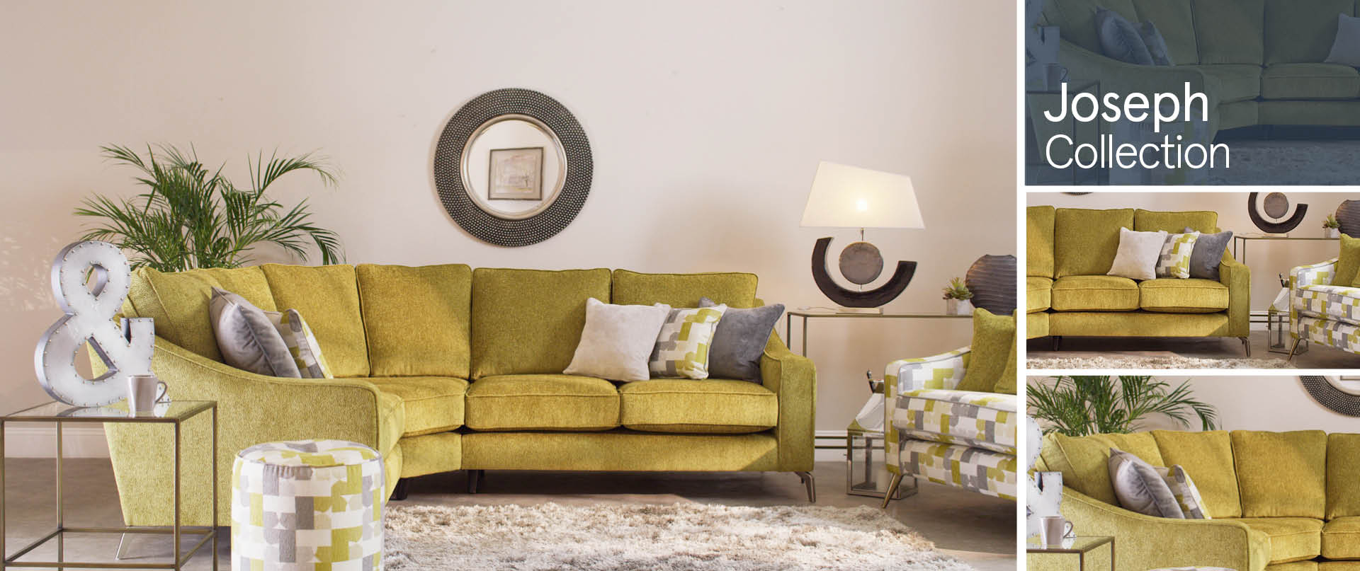 Joseph Fabric Sofa Ranges