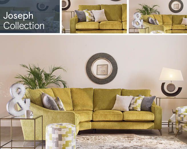 Joseph Fabric Sofa Ranges