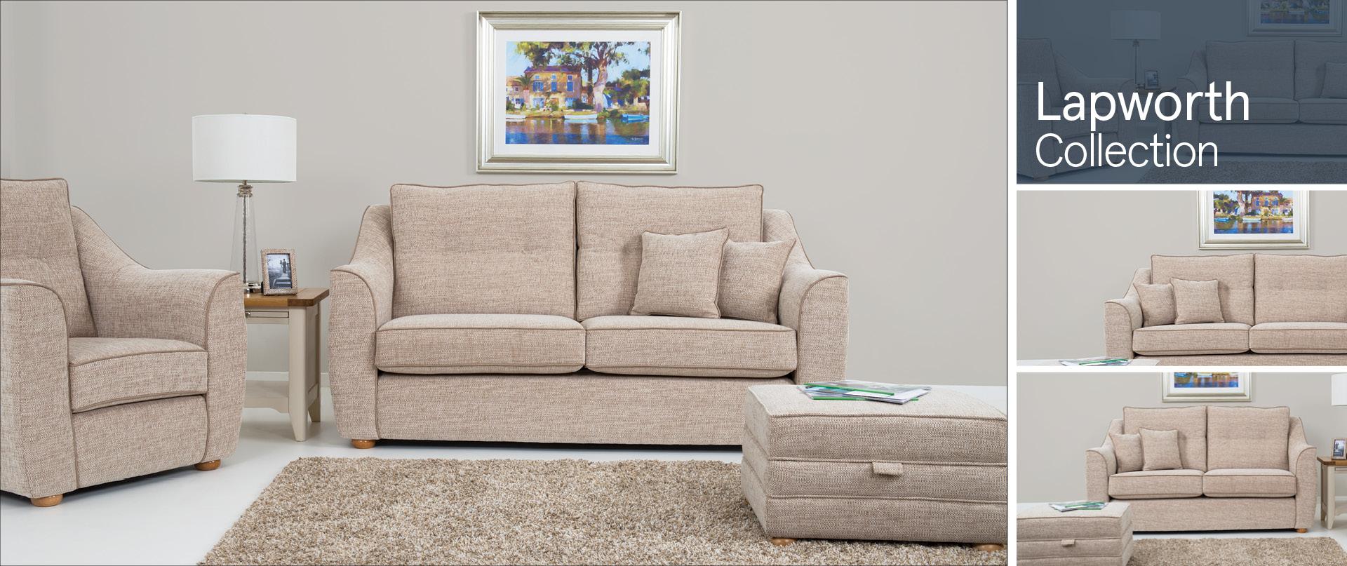 Lapworth Fabric Sofa Ranges