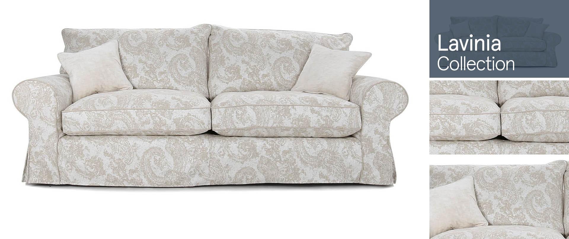 Lavinia All Fabric Sofa Ranges