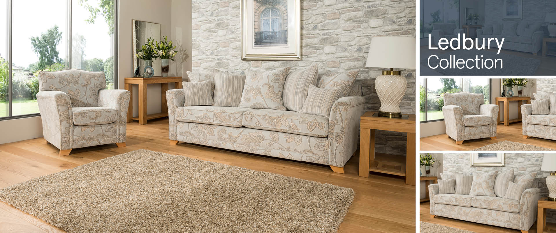 Ledbury Fabric Sofa Ranges