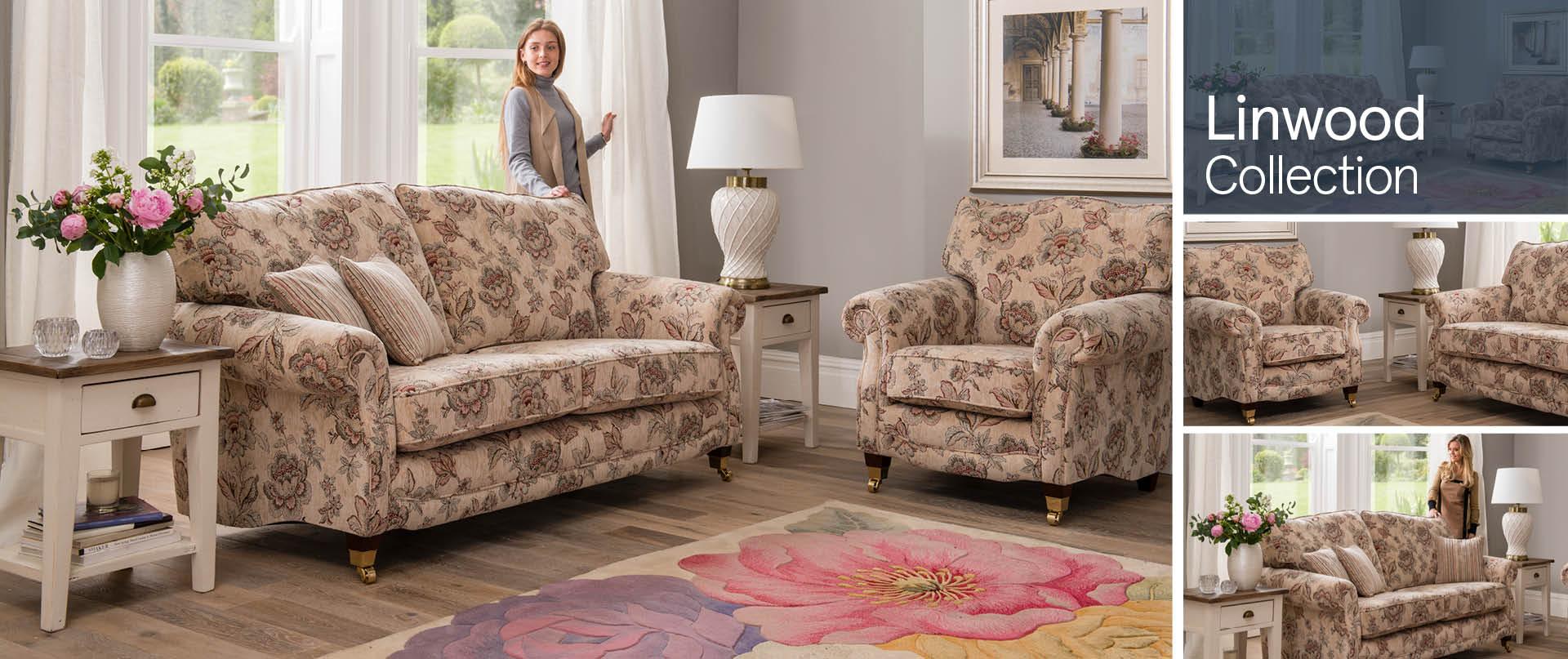 Linwood Fabric Sofa Ranges