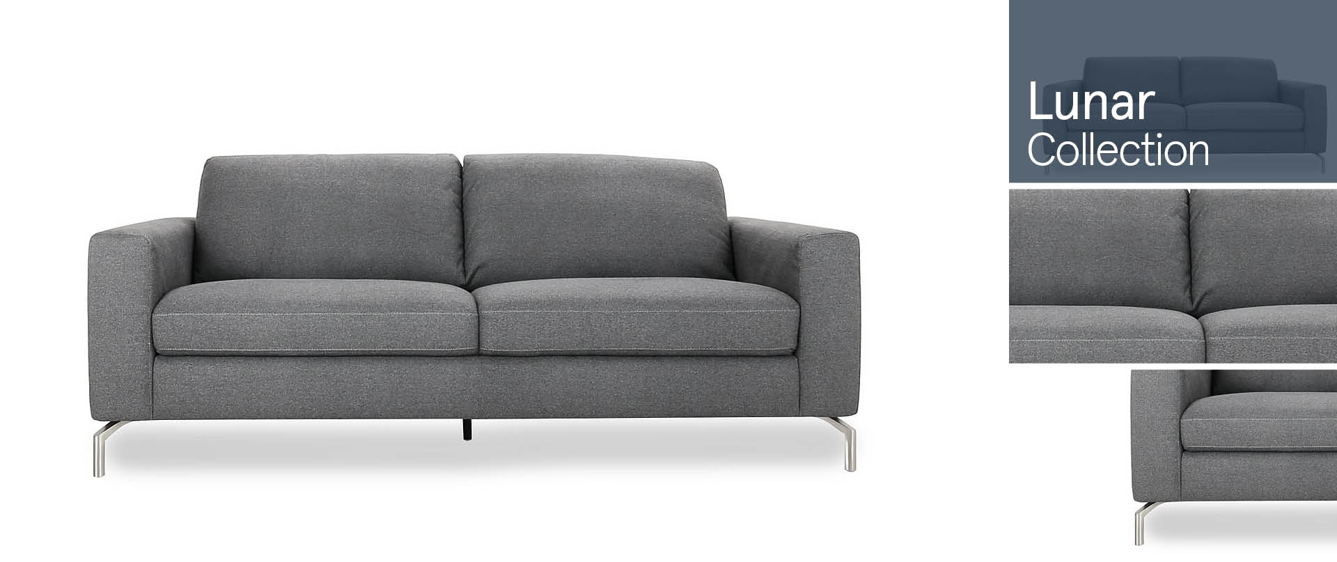 Lunar All Fabric Sofa Ranges