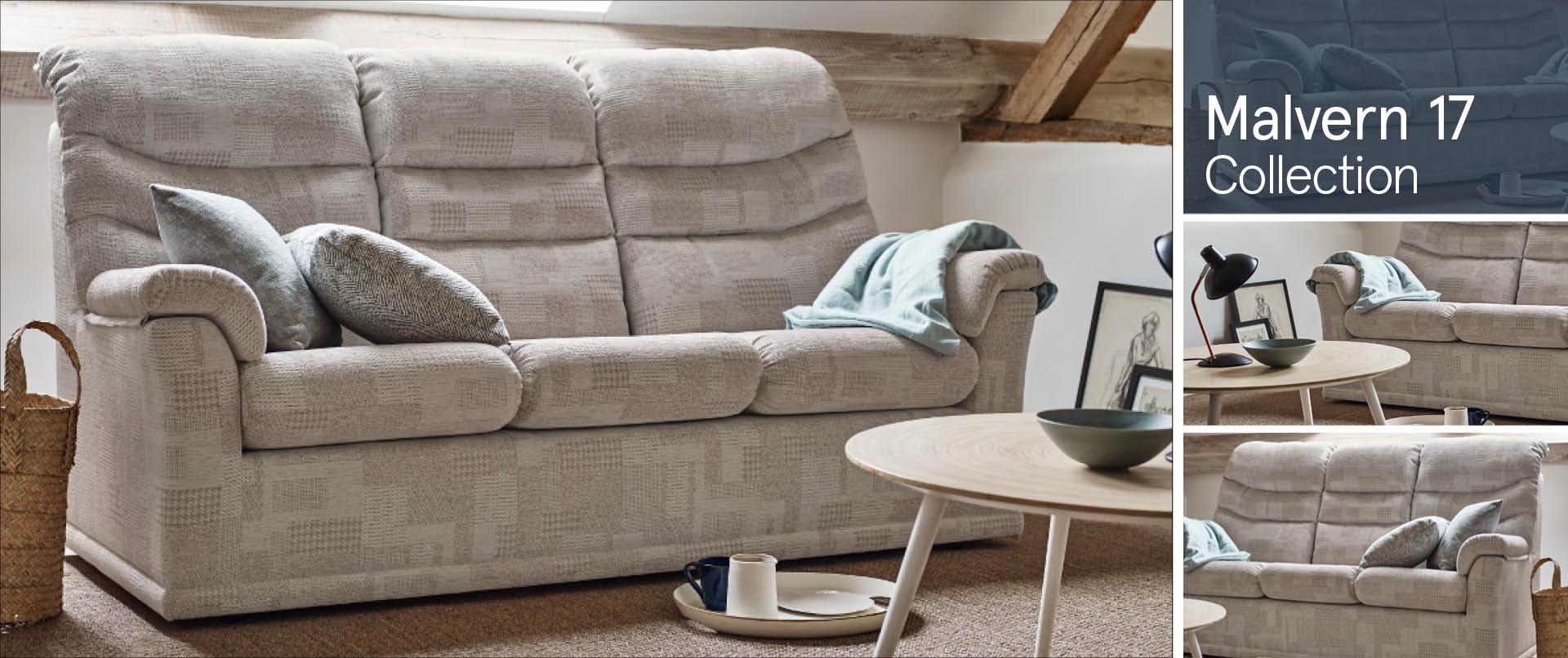 Malvern 17 Fabric Sofa Ranges