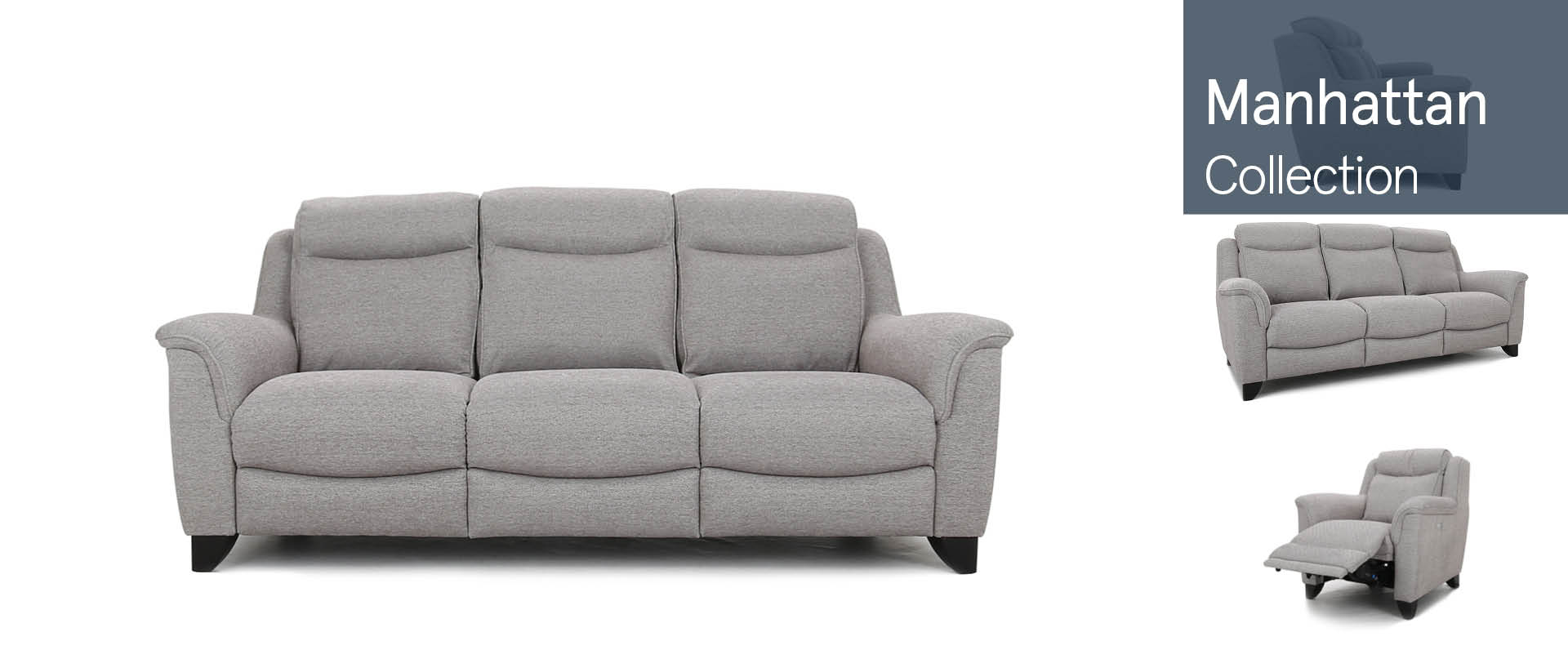 Manhattan by Parker Knoll  Fabric Sofas Ranges
