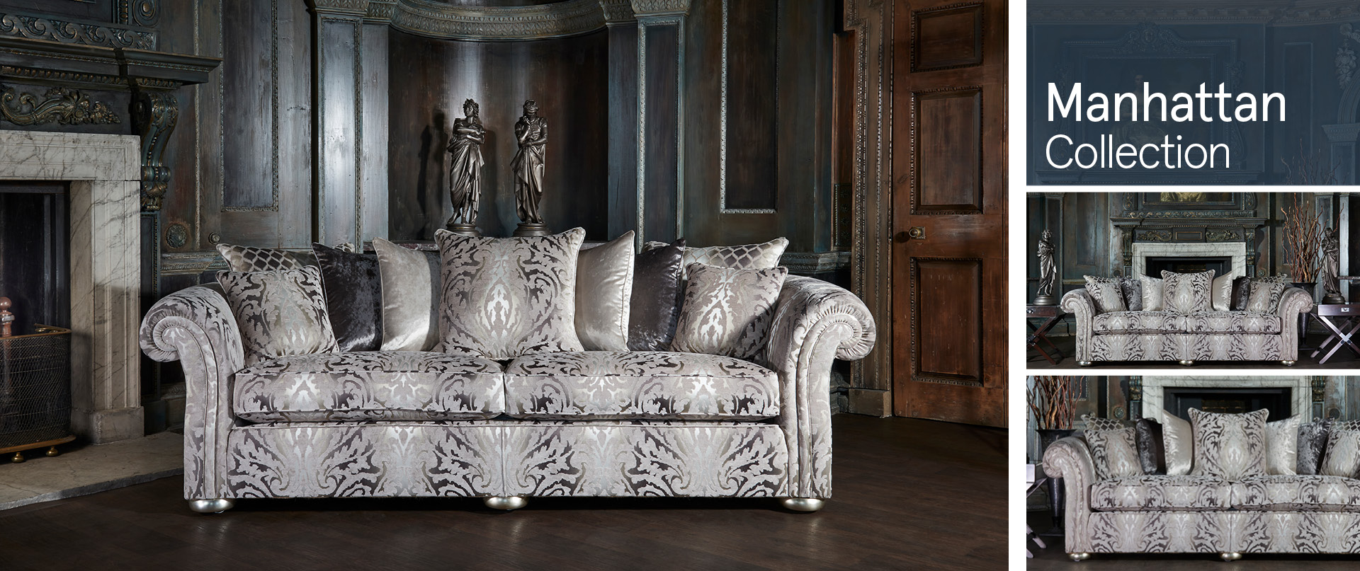 Manhattan Fabric Sofa Ranges