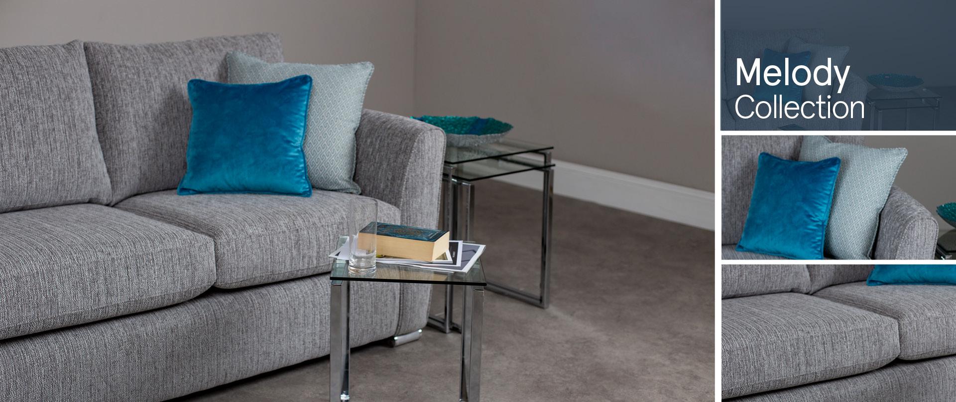Melody Fabric Sofa Ranges