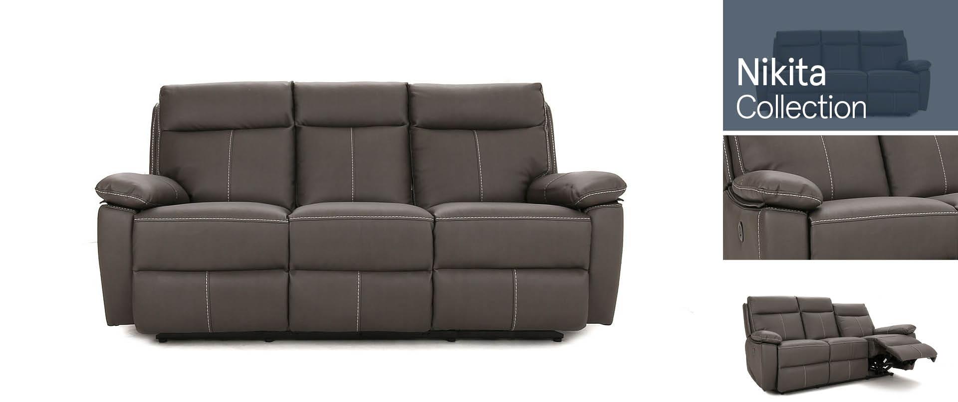 Nikita All Fabric Sofa Ranges
