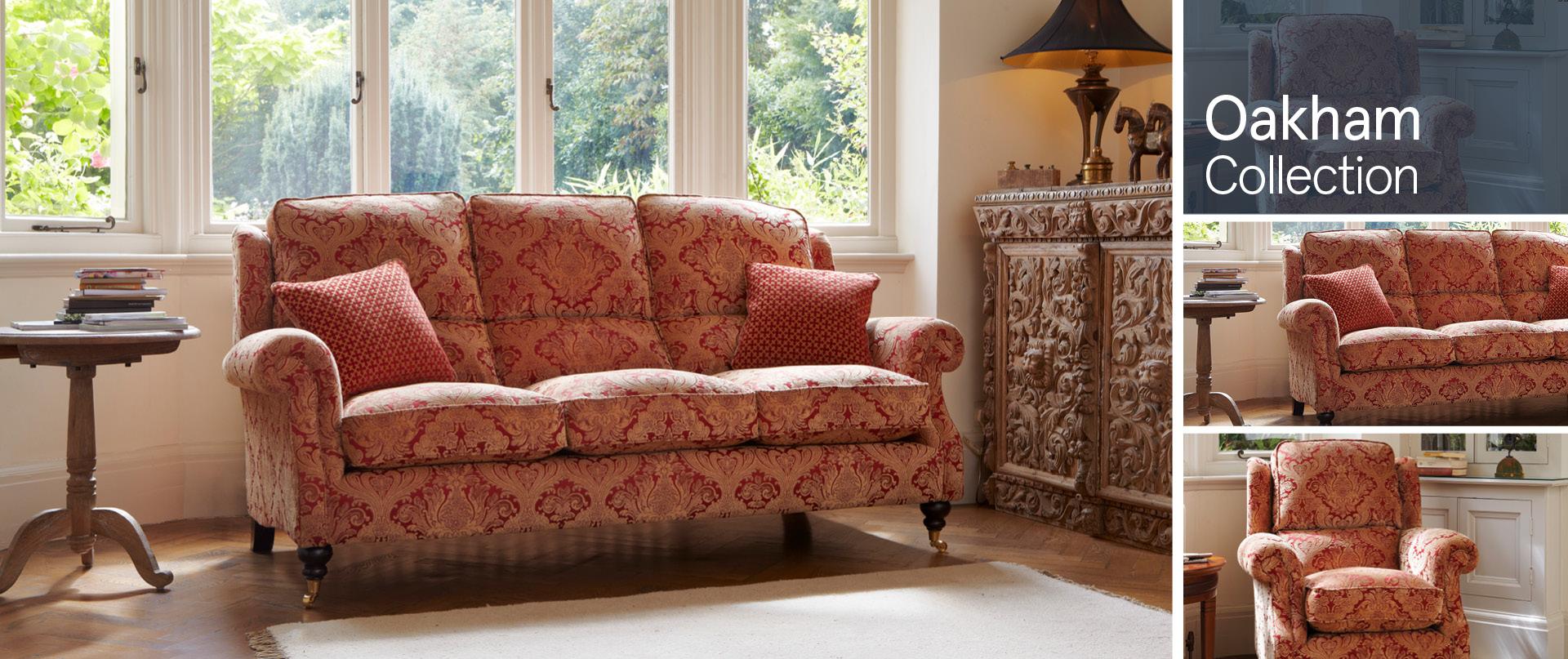 Oakham Fabric Sofa Ranges