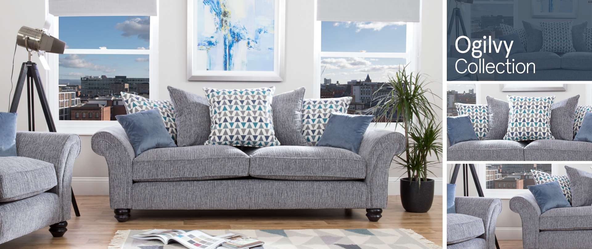 Ogilvy Fabric Sofa Ranges