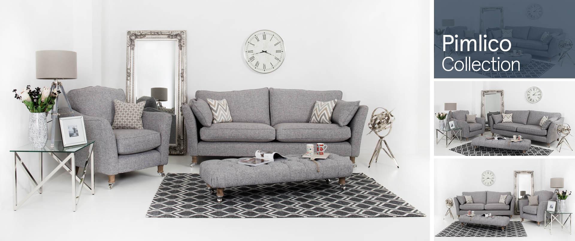 Pimlico Fabric Sofa Ranges