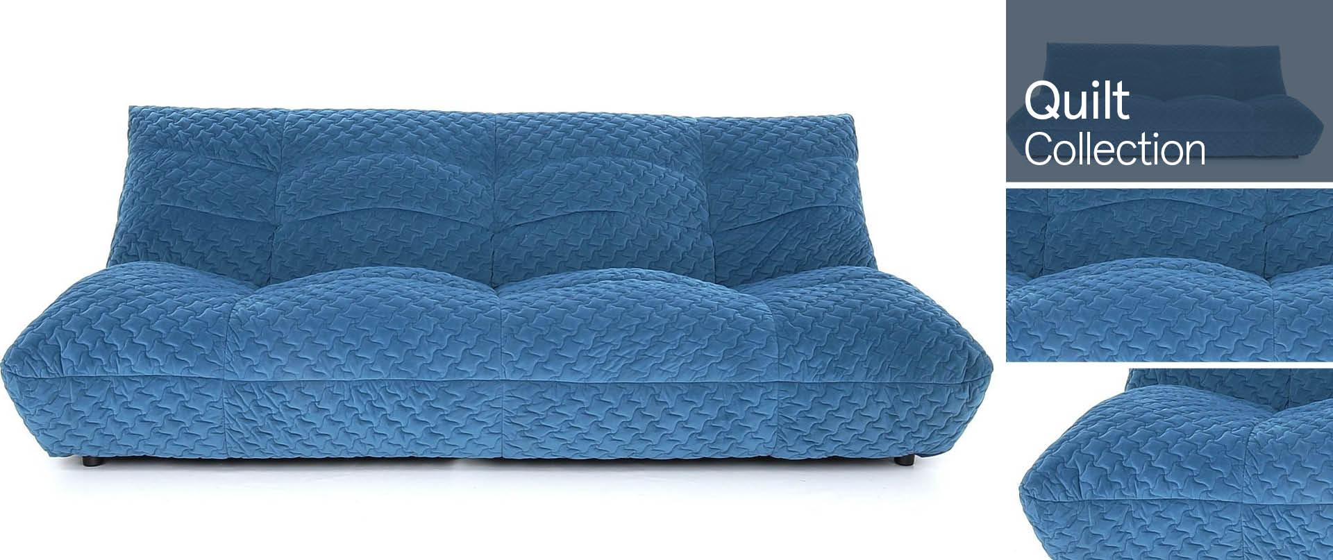 Quilt All Fabric Sofa Ranges