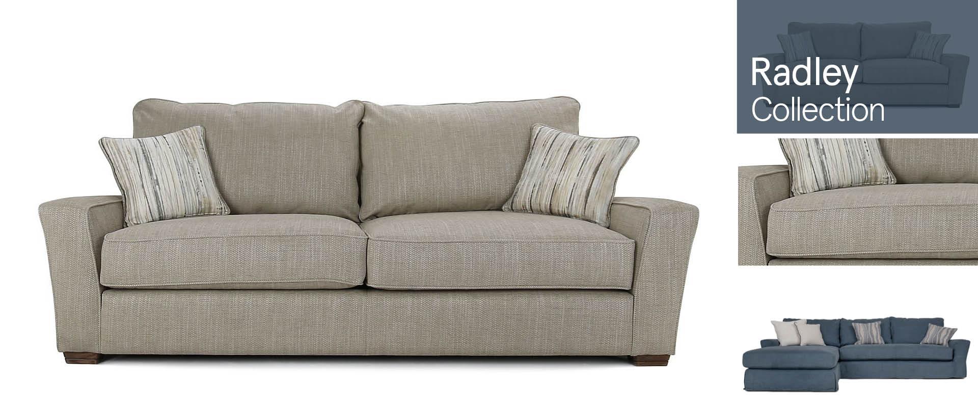 Radley All Fabric Sofa Ranges