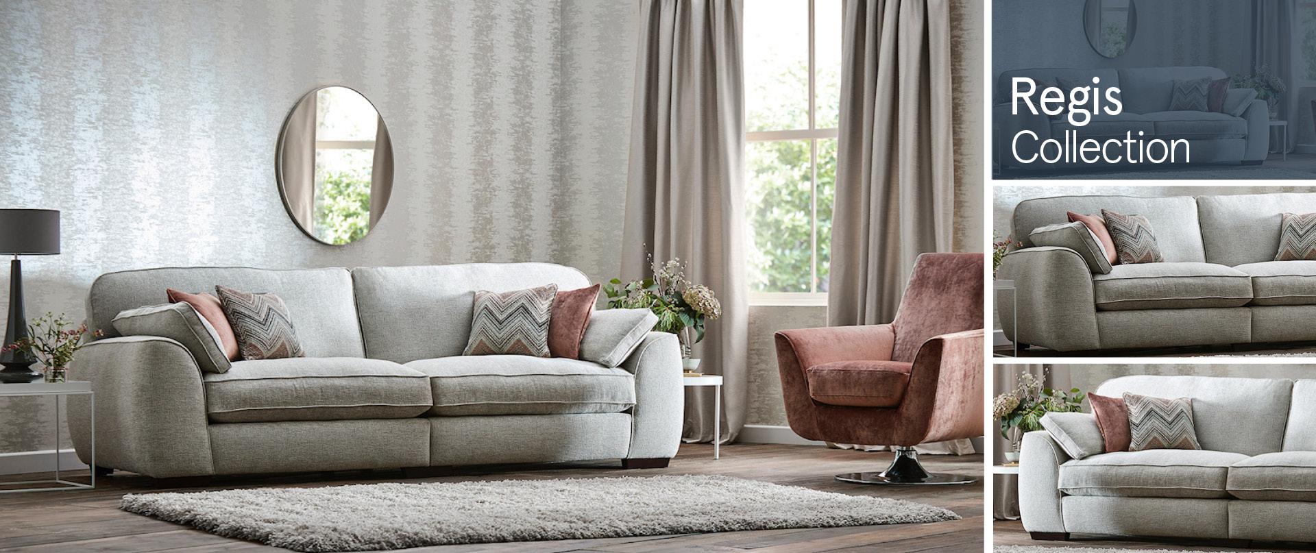 Regis Fabric Sofa Ranges