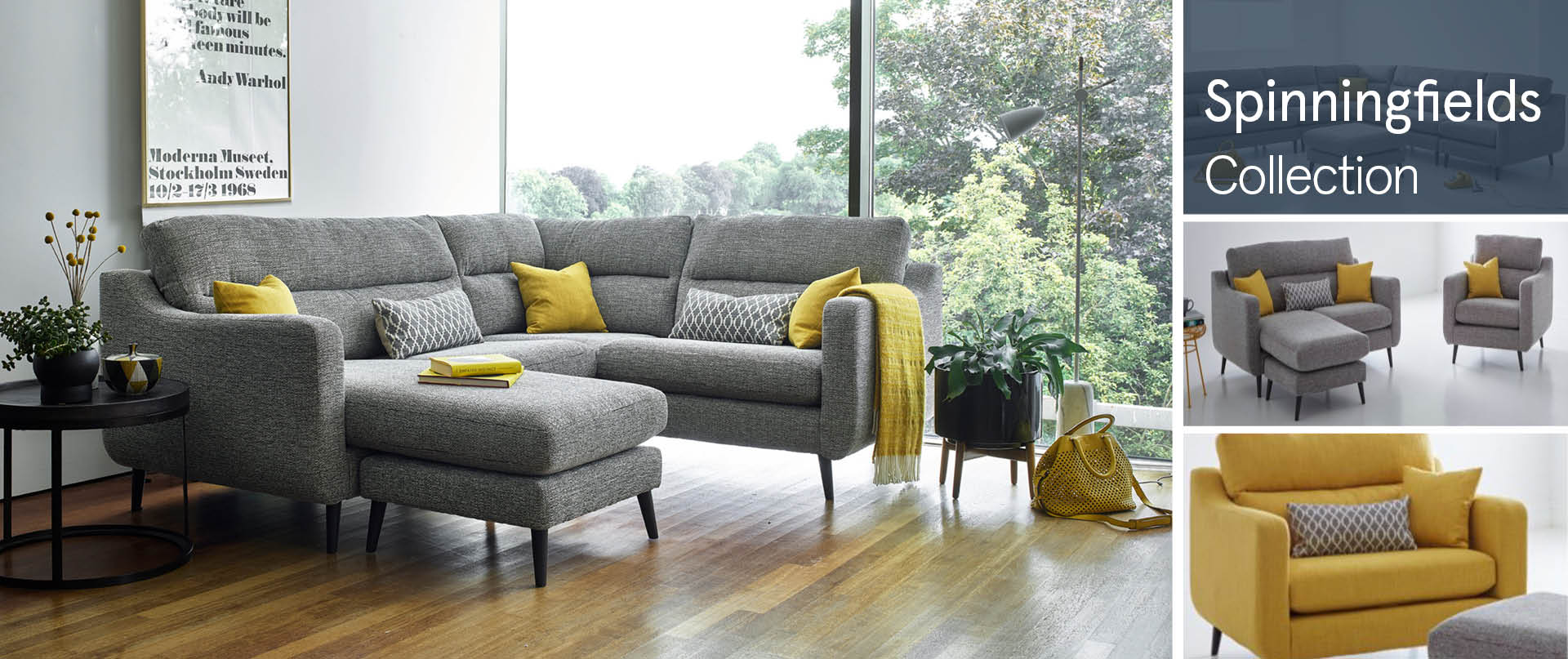 Spinningfields Fabric Sofas Ranges