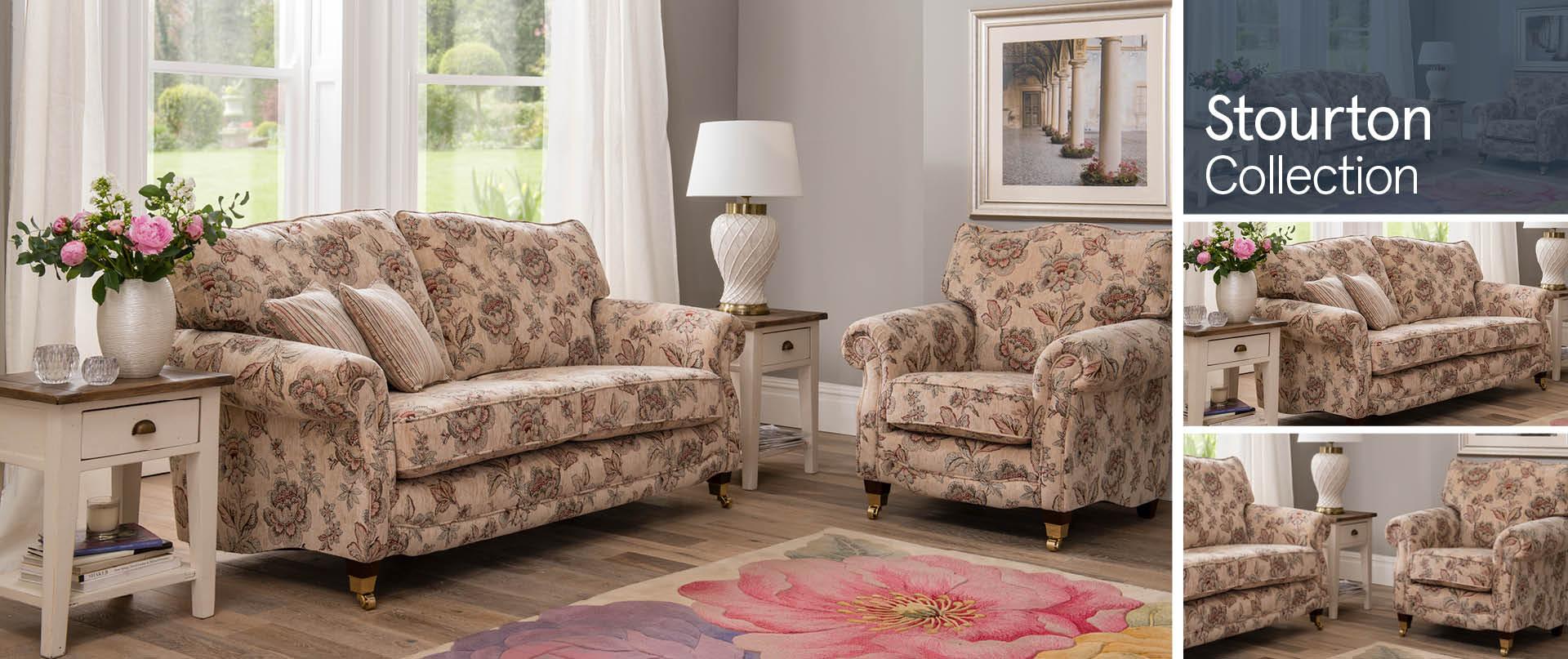 Stourton Fabric Sofa Ranges