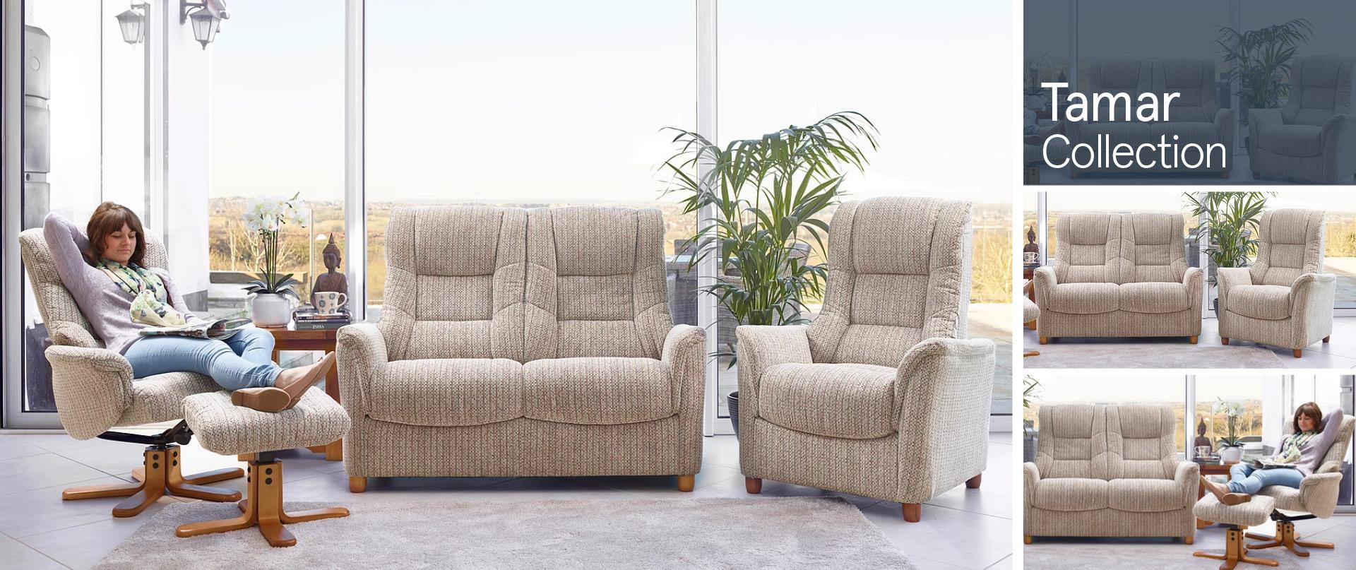 Tamar Fabric Sofa Ranges