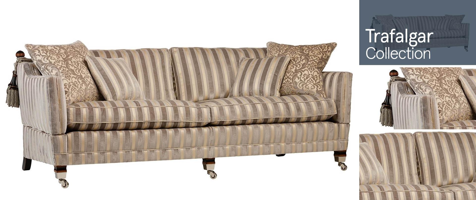 Trafalgar All Fabric Sofa Ranges
