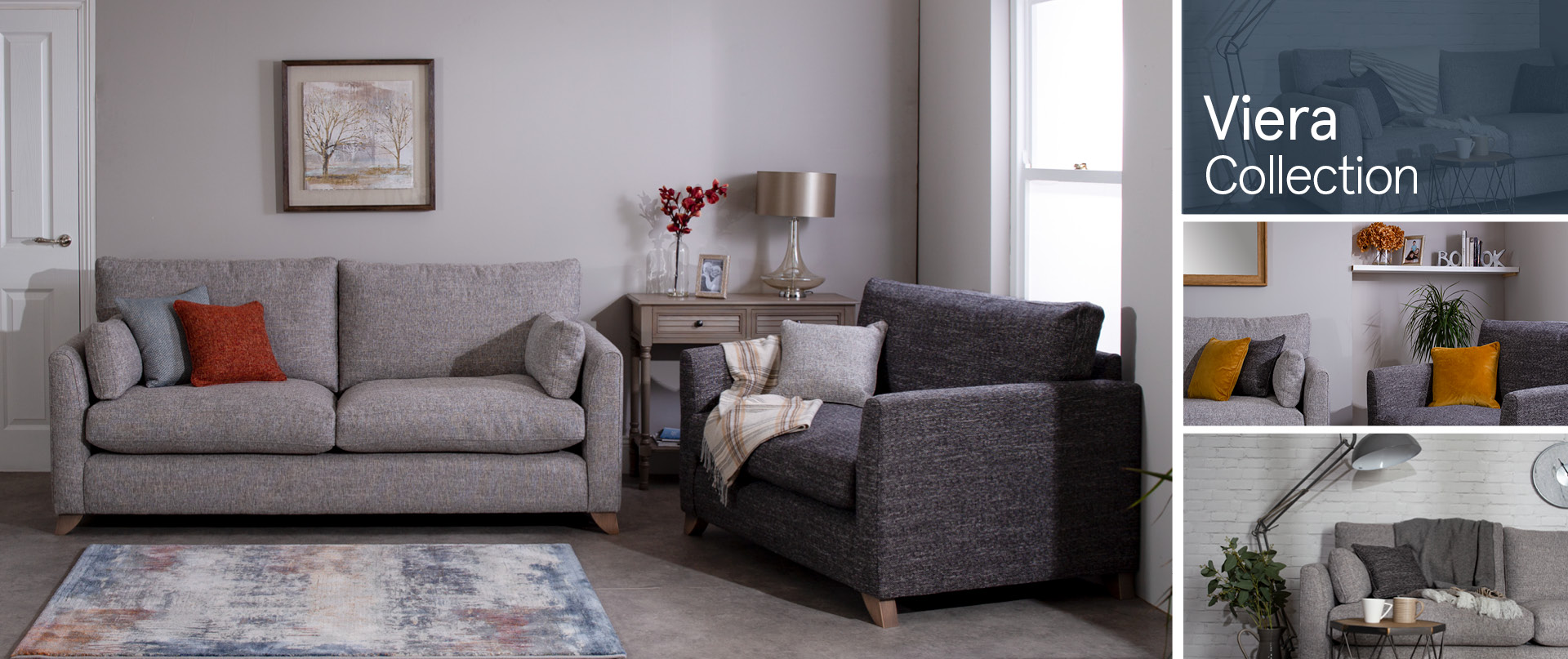Viera Fabric Sofa Ranges