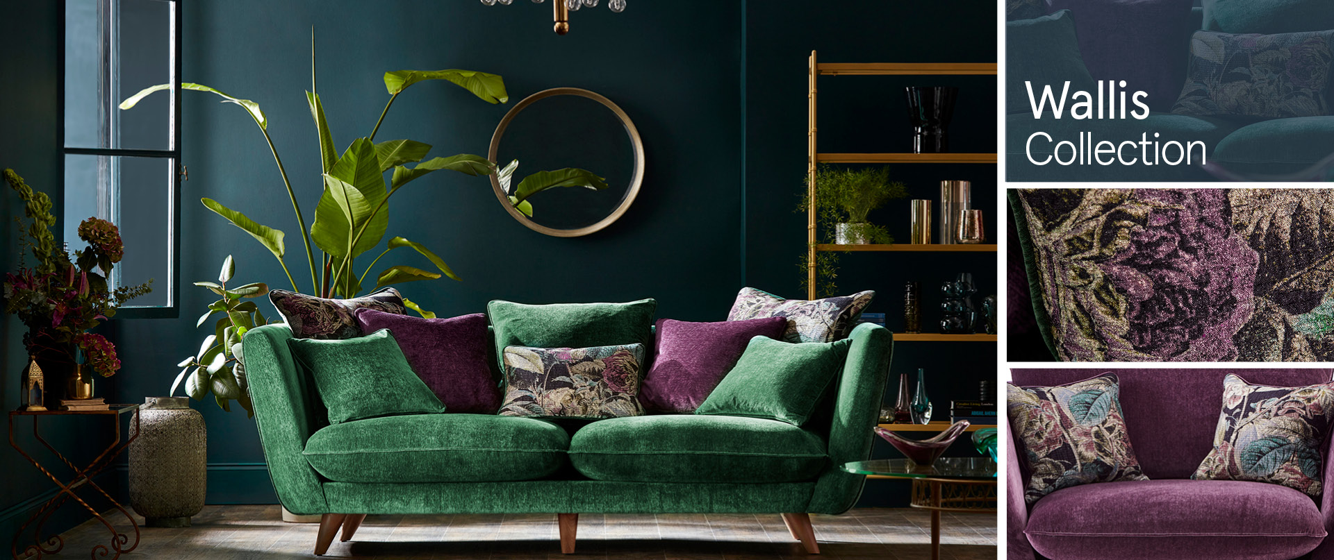 Wallis Fabric Sofa Ranges