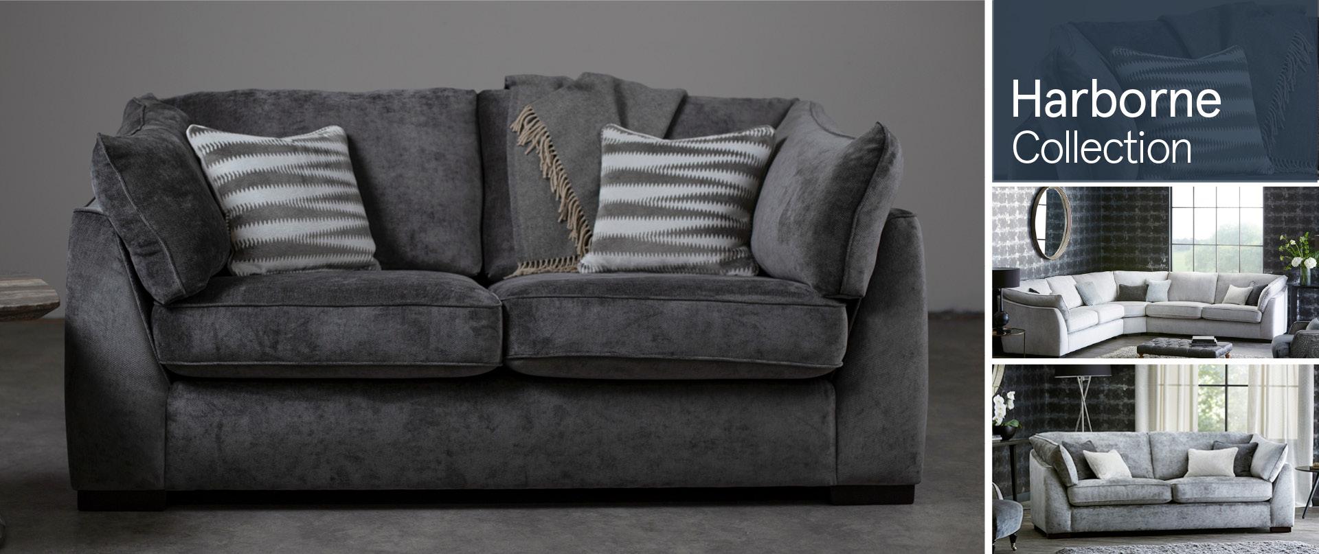 Harborne Fabric Sofa Ranges