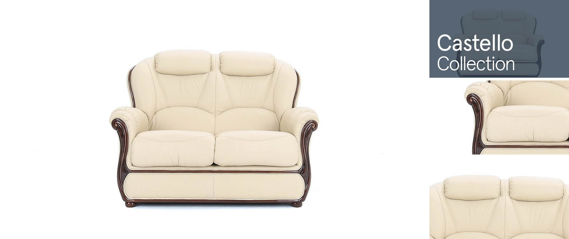 Castello Leather Sofa Ranges