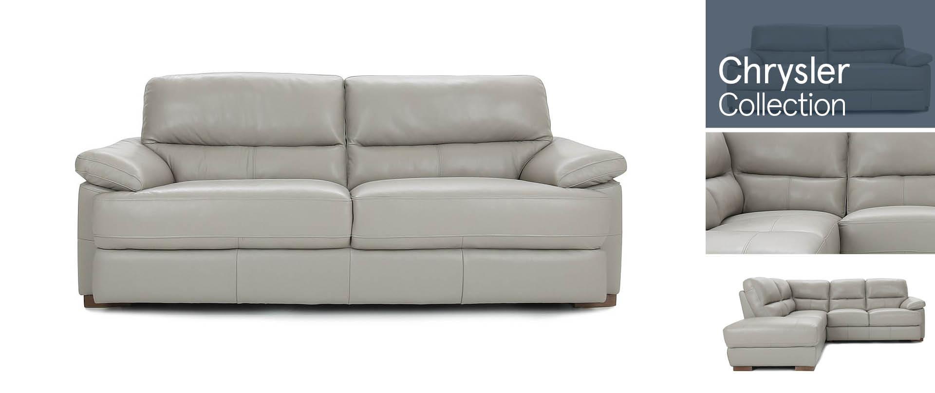 Chrysler Leather Sofa Ranges
