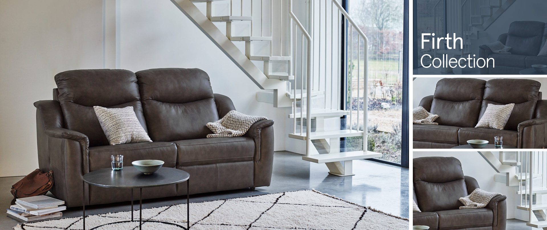 Firth Leather Sofa Ranges