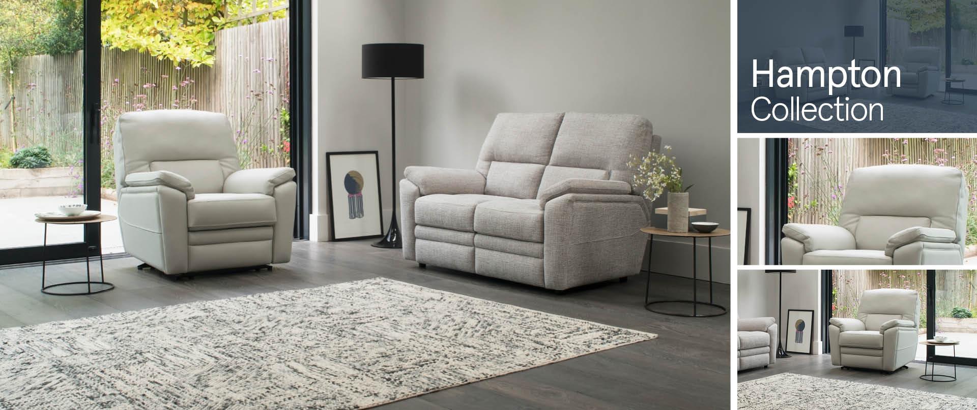 Hampton Leather Sofa Ranges