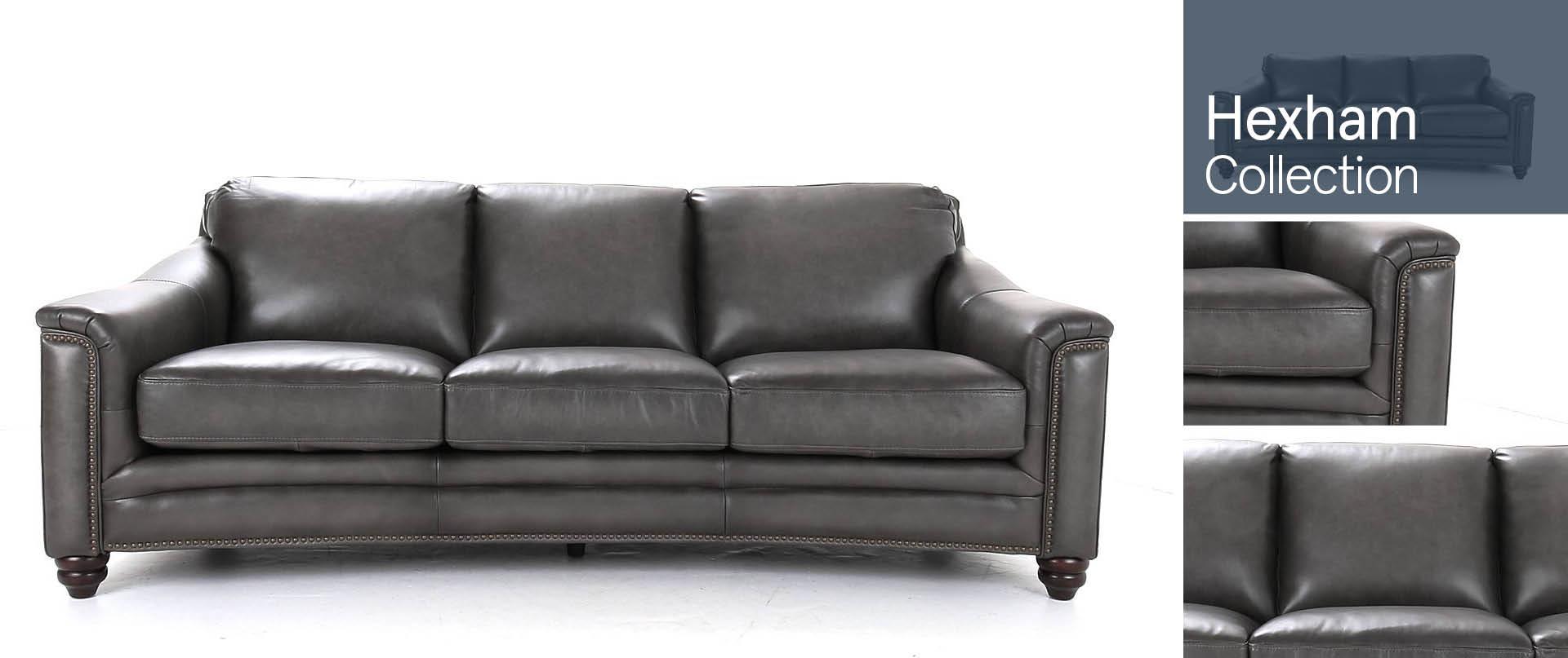 Hexham Leather Sofa Ranges